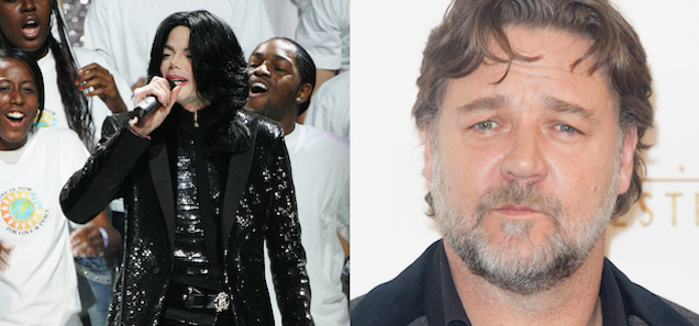 Did Michael Jackson Prank Call Russell Crowe With Great Jokes for Years?