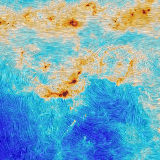 This Image of Stars Forming Looks Just Like Van Gogh's Starry Night