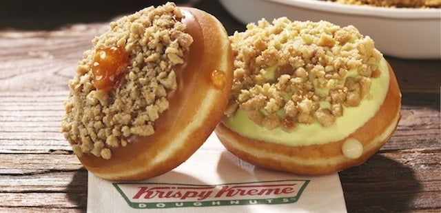 Holy crap, Krispy Kreme is making pie donuts