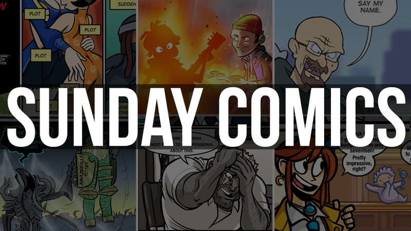 Sunday Comics: Another Word For Plot