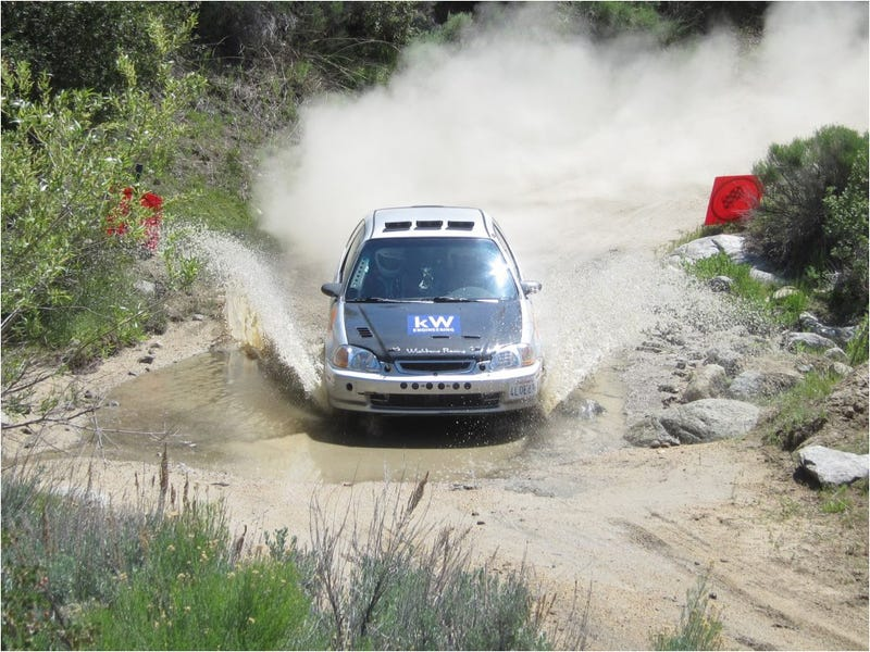 Honda Civic sets fastest time down Power Stage at High Desert Trails Rally