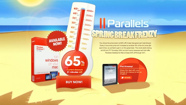Get Parallels Desktop for Mac for $28 for a Limited Time, Normally $80