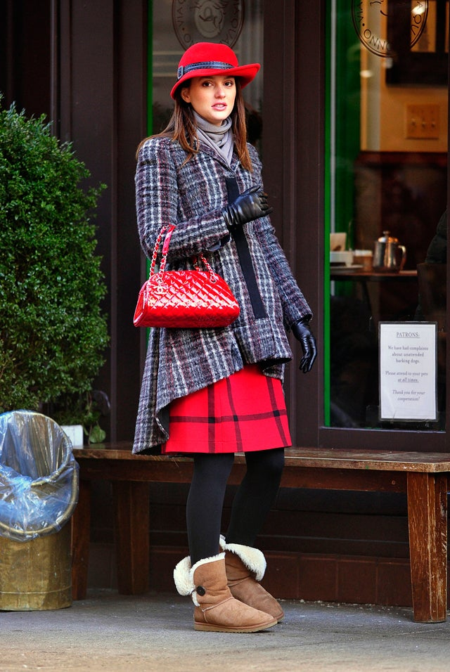 Leighton's Accessories Are Red Hot