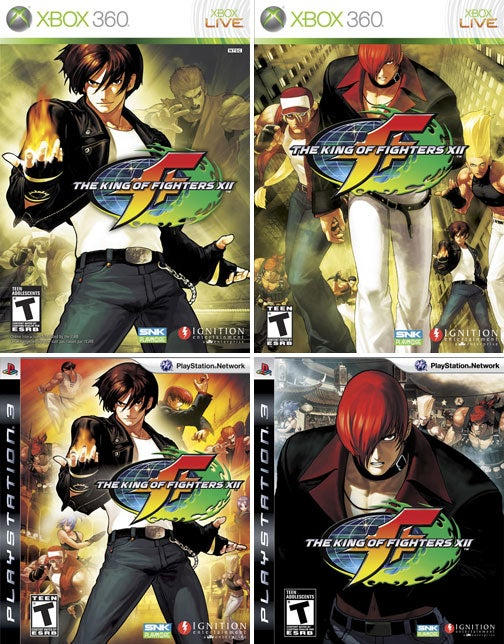 Which King of Fighters XII Cover Do You Want?