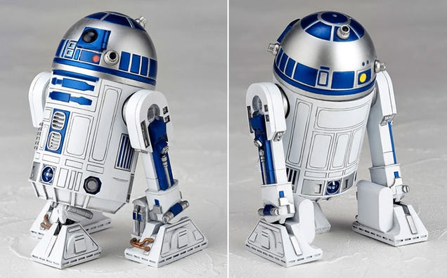 R2d2 Back This R2-D2 Figure Is S...