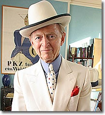 Tom Wolfe Eats Alone, On Display