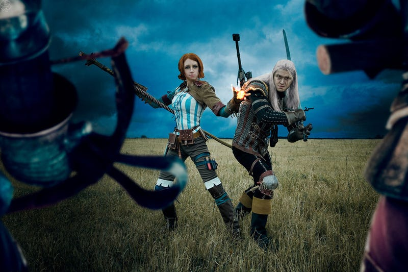 The Witcher Comes To Life With Very Witchery Cosplay