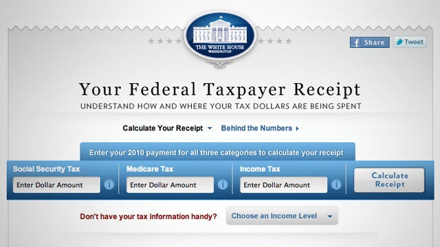 Your Federal Taxpayer Receipt Details Where Your Tax Dollars Are Going This Year