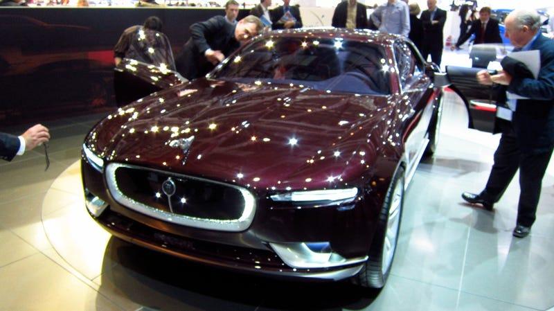 Bertone concept captures spirit of Jaguar past