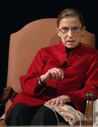 U.S. Justice Ginsburg Hospitalized