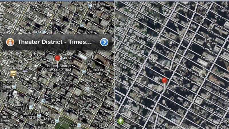 Google Maps vs. Apple Maps: A Side-By-Side Comparison