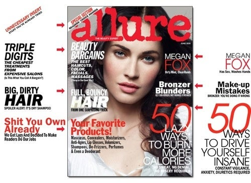 Megan Fox Hates Everything In Allure