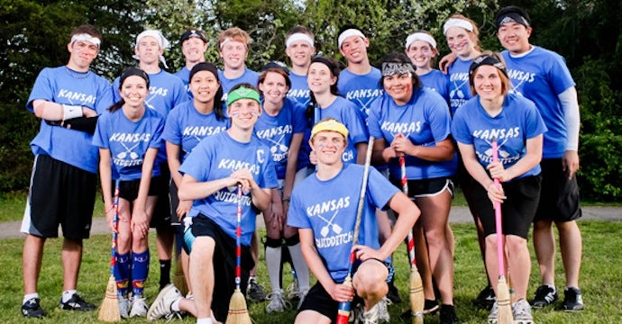 The Kansas Jayhawks Are Ranked Number Two In Quidditch Heading Into The World Cup