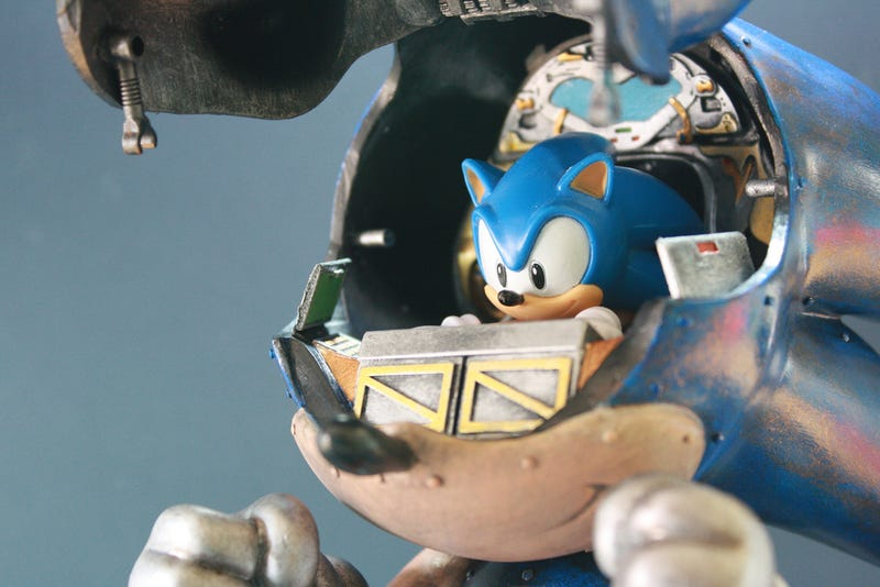 Giant Mecha Sonic Will Destroy Tokyo in Search of Giant Golden Rings