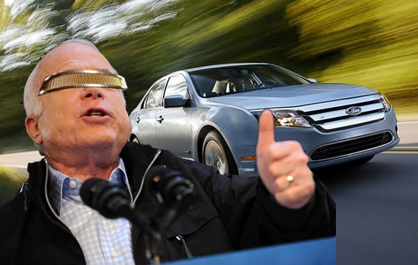 McCain Tweets Ford Fusion Hybrid Purchase Plans