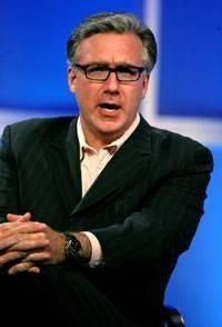 Professional Shouter Olbermann Finally Breaks Some Good News