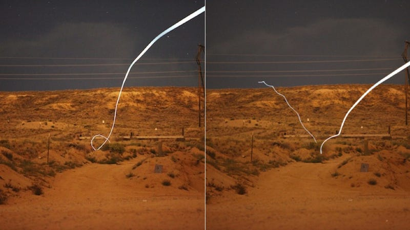 This self-guided bullet can chase you down from over a mile away