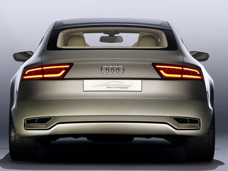 Audi Sportback Concept Reveals A Large X6-Like Butt