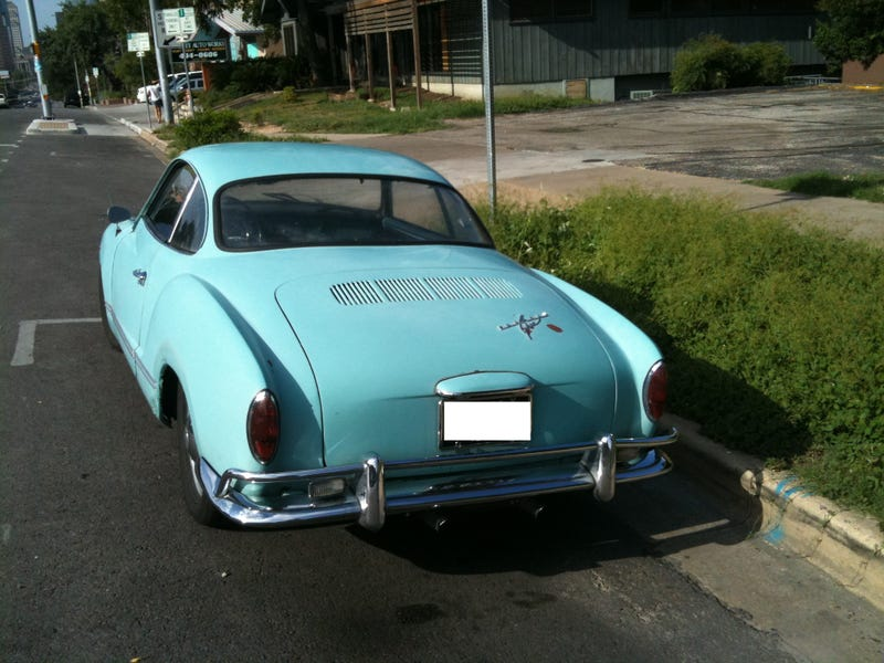 This 1964 Volkswagen Karmann Ghia Is Austin-tatious