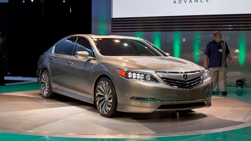 Is The Acura RLX Concept Taking Us Back To The 90s?