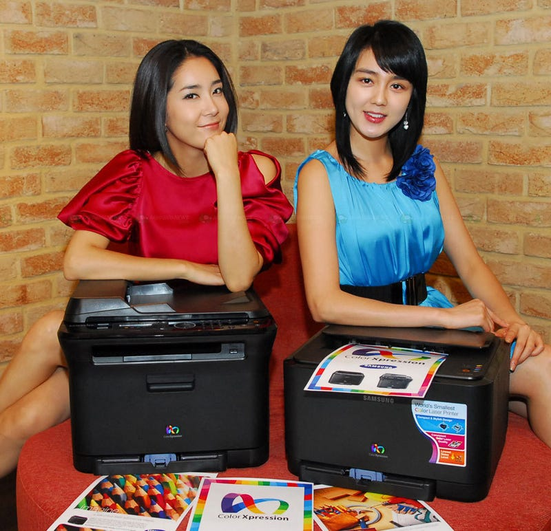 Color Laser Printer CLP-315K is World's Smallest, Says Samsung