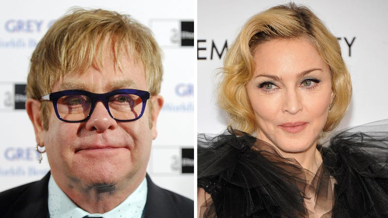 Elton John Continues Talking Shit About Madonna