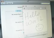 OS X on a UMPC Tablet