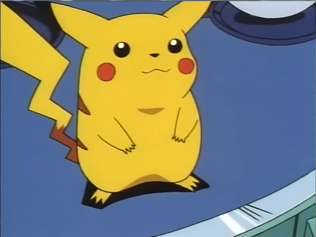 Pikachu Used To Be Way Cuter (and Fatter)