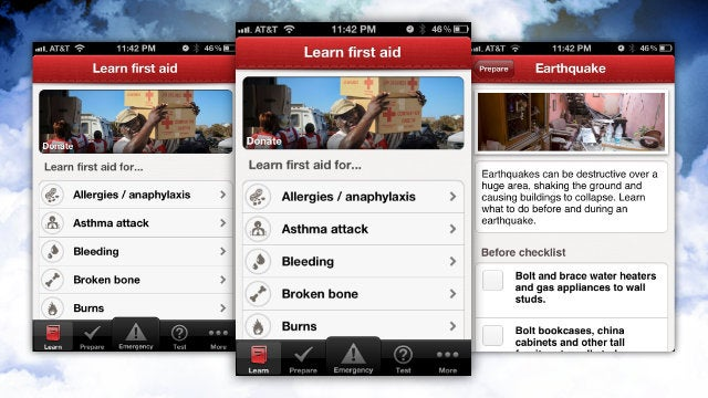 Red Cross First Aid Puts a Wealth of Emergency Information in Your Pocket