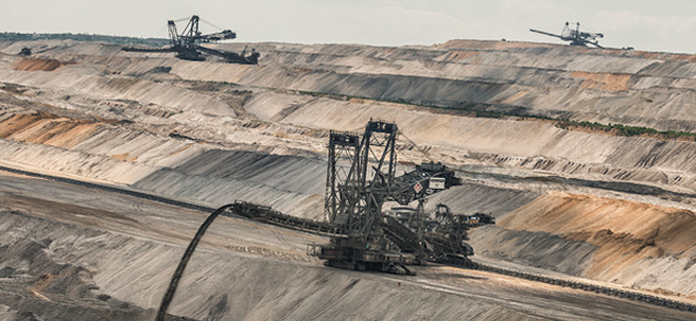 These Alien Landscapes Are Actually Coal Mining Pits From Above