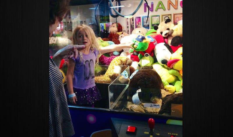 Fed-Up Kid Exacts Revenge on Arcade Claw Machine