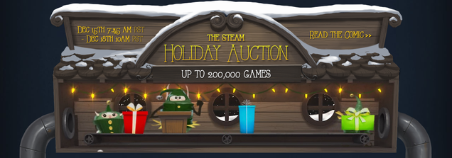 Steam Holiday Auction Shuts Down After Gem Exploits Spread (UPDATE)