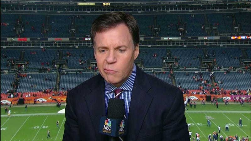 Let's All Watch Bob Costas Make Weird Faces For Two Minutes