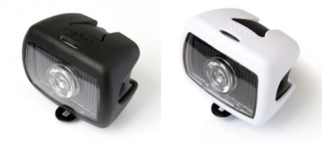 These Solar-Powered Bike Lights Might Be The Only Ones You'll Ever Need