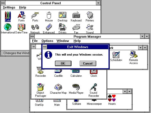 windows 3 x discontinued