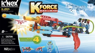 K'NEX's New Build-a-Blaster K-FORCE Line Is Finally Fully Revealed