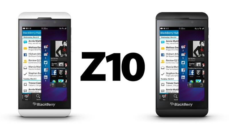 This Is the New BlackBerry Z10