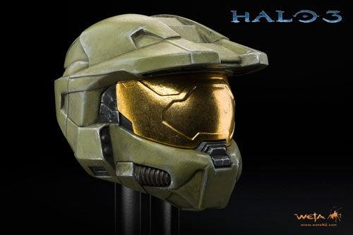 Weta's Fancy Halo Statues