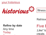 Historious Creates a Content-Searchable Index for Your Bookmarks