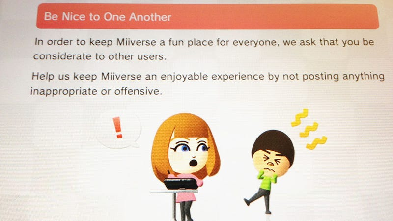 Nintendo's Miiverse Dreams of a Civilized, Spoiler-Free Online Community