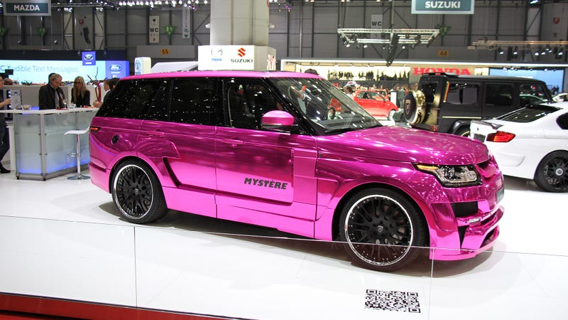 The Hamann Mystére Is A Range Rover For Your Inner Pimp