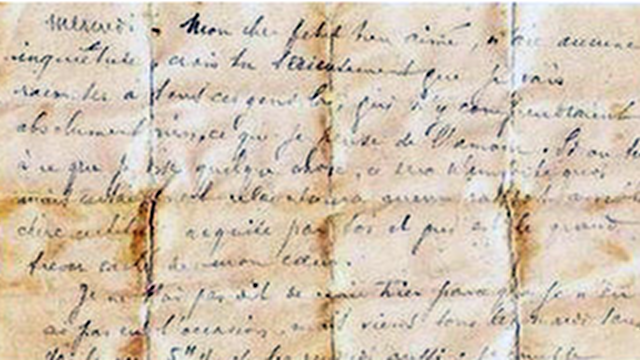 19th Century Love Letter Holds Up