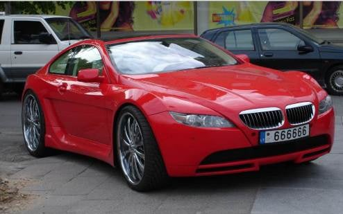 BMW 6-Series De- or Super-Uglified, You Be The Judge