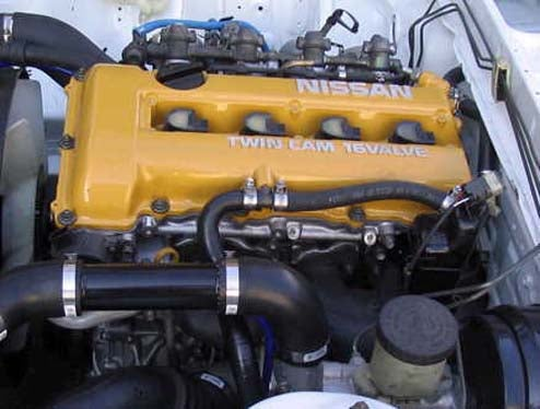 Engine of the Day: Nissan SR
