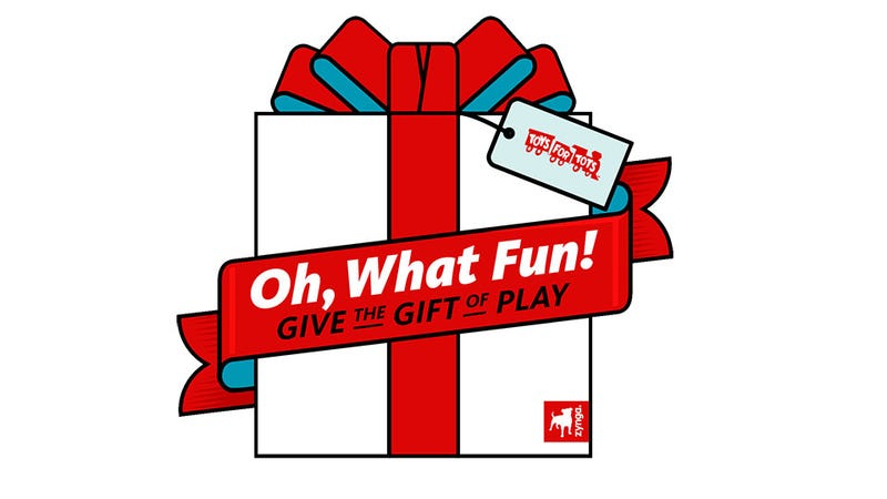 From the Bustling City to the Wild Frontier, Zynga Spreads Toys for Tots Cheer