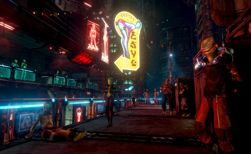 Prey 2's Stomping Grounds Are a Wretched Hive of Scum and Stuff