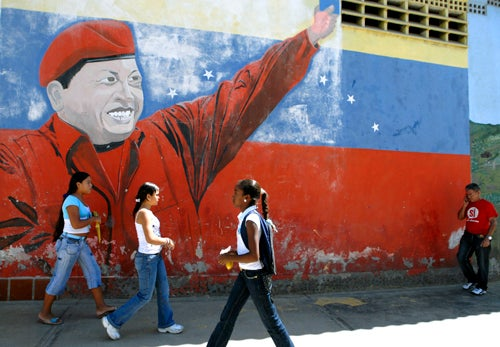Hugo Chavez™ Wants Venezuelans to Stop Making Him Look Bad