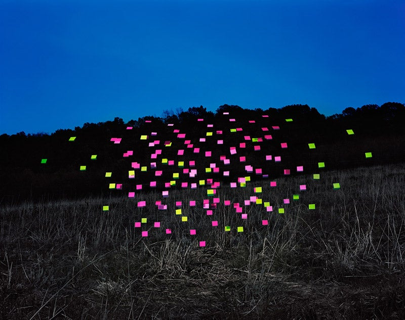 Night of the Swarming Post-It Notes