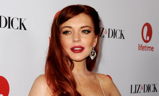 Lindsay Lohan Taking Liz & Dick Criticism Really Hard, Already Blaming the Script