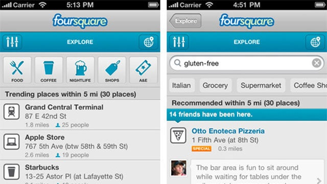 Foursquare 3 Makes Finding Recommended Spots Easier